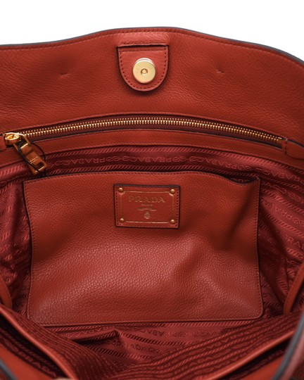 Prada Shoulder Tote in Red Image 5