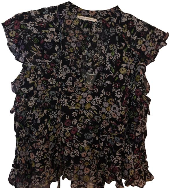Preload https://img-static.tradesy.com/item/24183055/rebecca-minkoff-black-floral-none-blouse-size-8-m-0-1-650-650.jpg