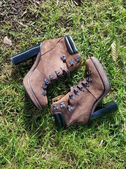 Coach Brown Boots Image 1