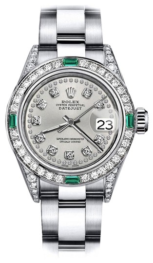Preload https://img-static.tradesy.com/item/24183128/rolex-stainless-steel-silver-string-26mm-datejust-diamond-lugs-and-emerald-watch-0-1-540-540.jpg