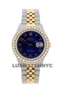 ROLEX Free Shipping 3.2ct 36mm Datejust S/S with Box & Appraisal Watch