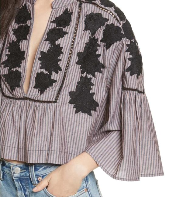 Free People Liya Top Striped Image 0