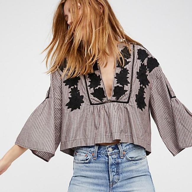 Free People Liya Top Striped Image 2