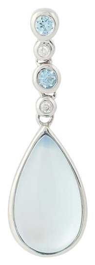 Preload https://img-static.tradesy.com/item/24183172/white-gold-new-blue-topaz-of-pearl-and-diamond-pendant-14k-n8434-necklace-0-1-540-540.jpg