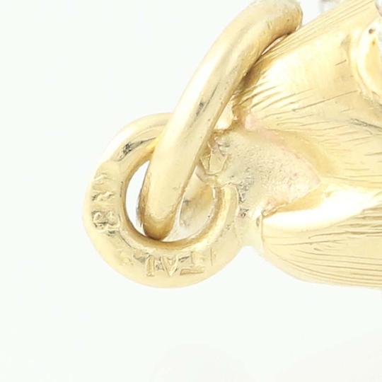 Other Articulating Fish Pendant - 18k Yellow Gold Moves Diamond Accent N8695 Image 2
