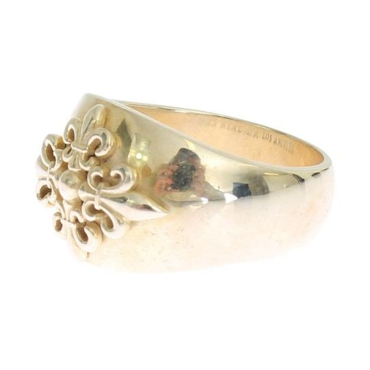 Gold D19000-1 Silver Crest 925 Sterling Ring (Eu 58 / Us 9) Men's Jewelry/Accessory Image 1