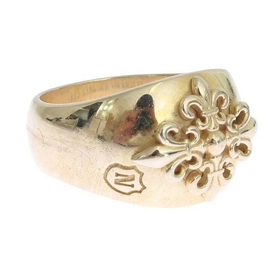 Gold D19000-1 Silver Crest 925 Sterling Ring (Eu 58 / Us 9) Men's Jewelry/Accessory Image 2