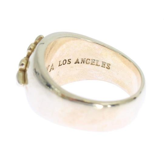 Gold D19000-1 Silver Crest 925 Sterling Ring (Eu 58 / Us 9) Men's Jewelry/Accessory Image 3