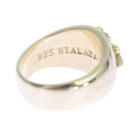 Gold D19000-1 Silver Crest 925 Sterling Ring (Eu 58 / Us 9) Men's Jewelry/Accessory Image 4