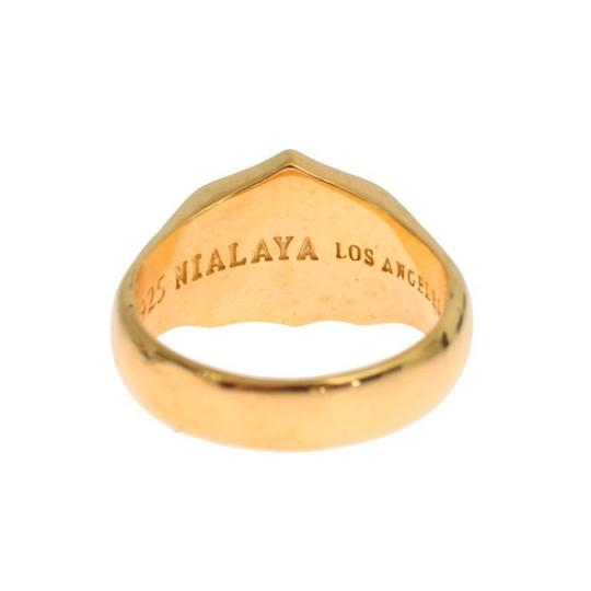Gold D19137-3 Plated 925 Sterling Silver Ring (Eu 63 / Us 11) Men's Jewelry/Accessory Image 4