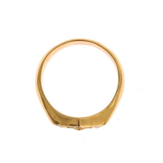 Gold D19137-3 Plated 925 Sterling Silver Ring (Eu 63 / Us 11) Men's Jewelry/Accessory Image 5