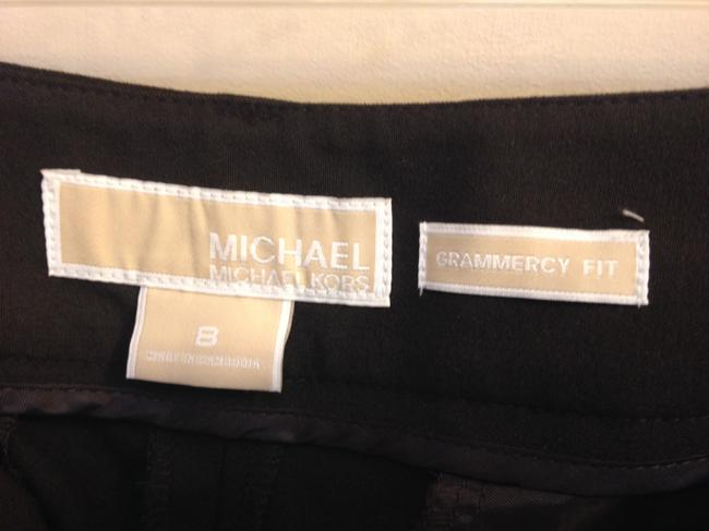 MICHAEL Michael Kors Size Trouser Pants Brown Grammercy Fit Image 1