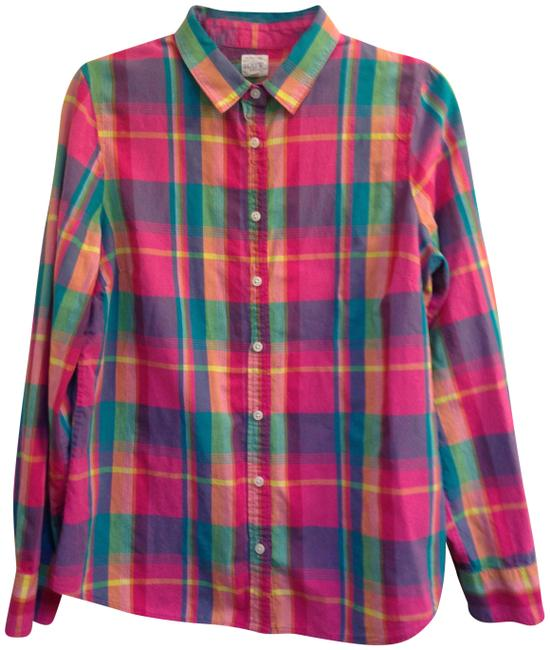 Preload https://img-static.tradesy.com/item/24183542/jcrew-the-perfect-shirt-in-plaid-button-down-top-size-12-l-0-2-650-650.jpg