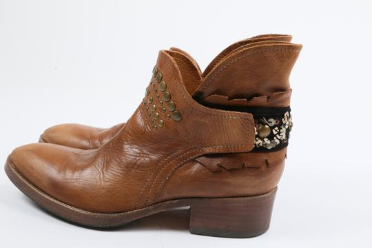 Coop Pull On Casual Western Brown Boots Image 1