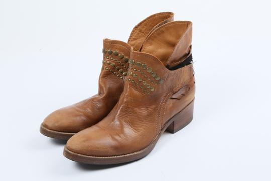 Coop Pull On Casual Western Brown Boots Image 2