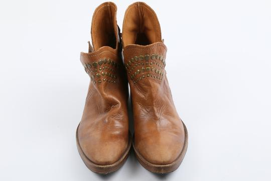 Coop Pull On Casual Western Brown Boots Image 3
