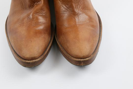 Coop Pull On Casual Western Brown Boots Image 4