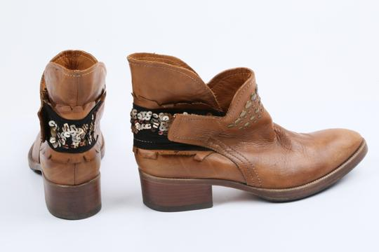Coop Pull On Casual Western Brown Boots Image 5