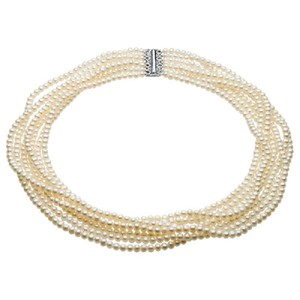 Apples of Gold 7-STRAND FRESHWATER CULTURED PEARL NECKLACE