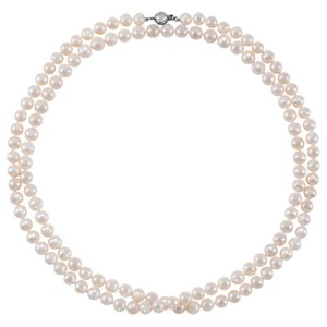"Apples of Gold 42"" FRESHWATER PEARL STRAND NECKLACE"