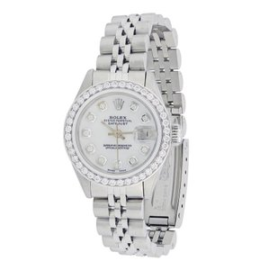 Rolex Vintage Rolex Datejust Lady Stainless Steel with Diamonds