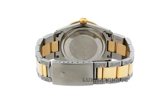 ROLEX Free Shipping 8ct 36mm Datejust S/S with Box & Appraisal Watch Image 1