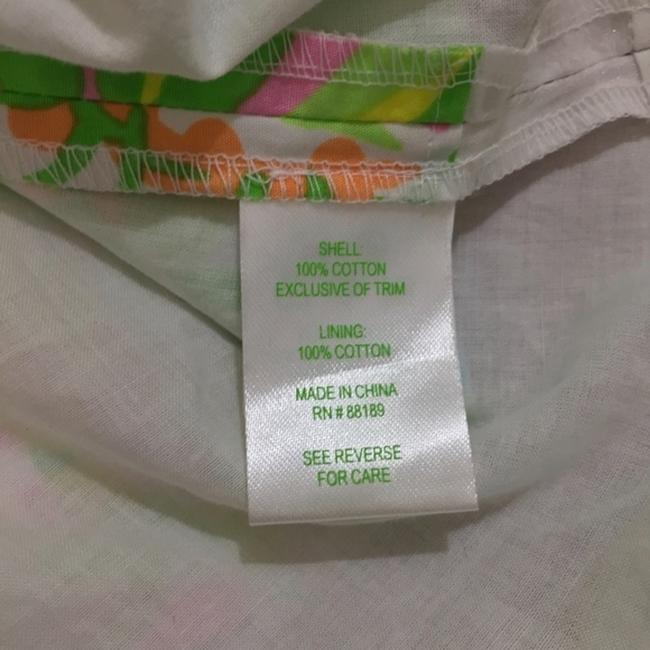 Lilly Pulitzer short dress Green, Neon, Pink, White, Yellow, Orange, Blue A-line Preppy Party on Tradesy Image 6