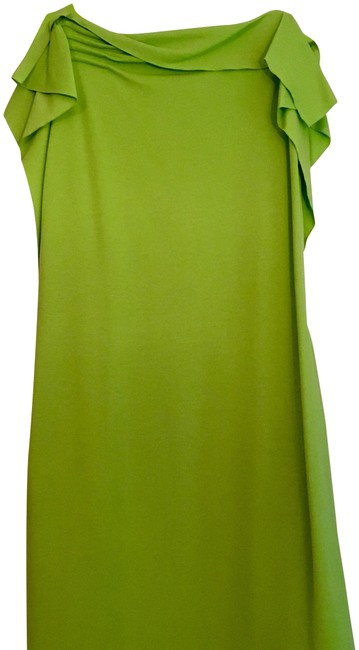 Preload https://img-static.tradesy.com/item/24183833/escada-lime-green-sleeveless-ruffle-sleeves-short-night-out-dress-size-2-xs-0-3-650-650.jpg
