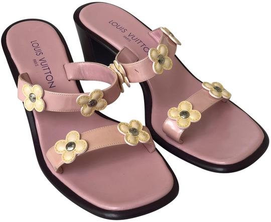 Preload https://img-static.tradesy.com/item/24183917/louis-vuitton-pink-patent-chunky-heeled-with-floral-detailing-sandals-size-us-85-regular-m-b-0-1-540-540.jpg