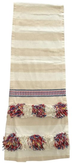 Anthropologie Multicolor Fringed Cortes Table Runner Other Image 3