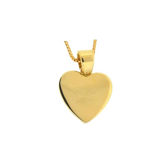 Other 18k Yellow Gold Heart Pendant Necklace Image 2