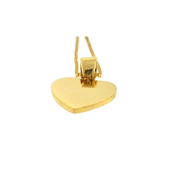 Other 18k Yellow Gold Heart Pendant Necklace Image 3