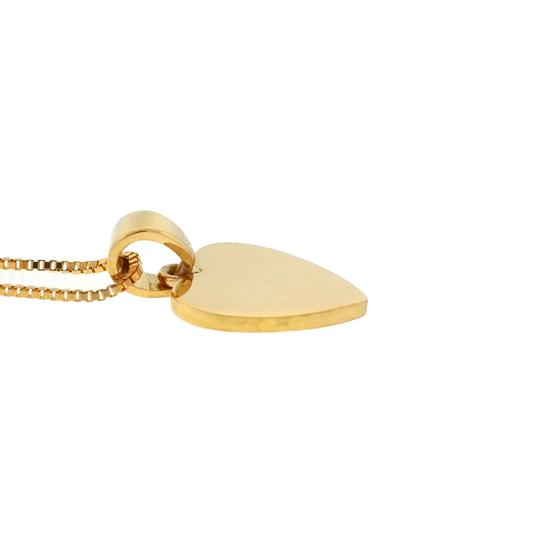 Other 18k Yellow Gold Heart Pendant Necklace Image 4