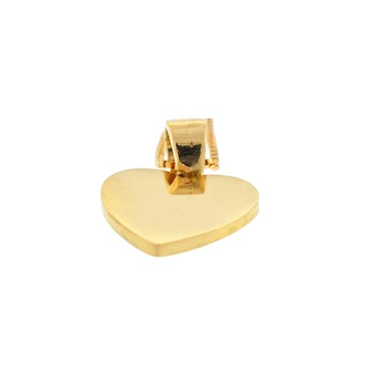 Other 18k Yellow Gold Heart Pendant Necklace Image 5
