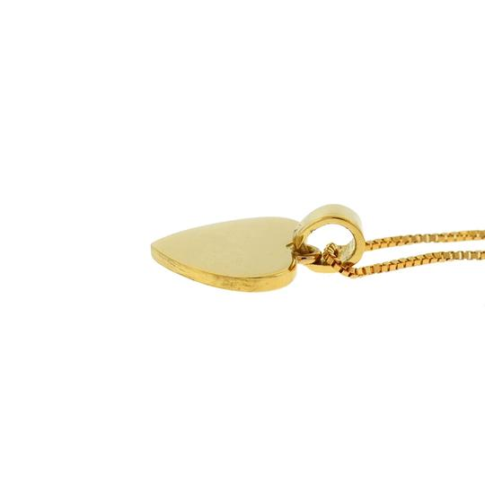 Other 18k Yellow Gold Heart Pendant Necklace Image 6