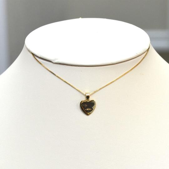 Other 18k Yellow Gold Heart Pendant Necklace Image 9