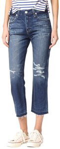 AMO Boyfriend Cut Jeans-Distressed