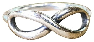 Tiffany & Co. Tiffany & Co. 925 Sterling Silver Infinity Band Ring Womens SZ 8 SALE!