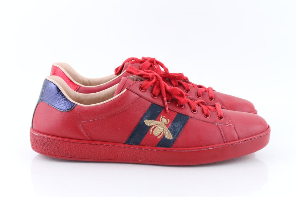 Gucci Red sneakers 123456789101112