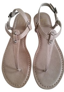 Frye Leather Taupe Sandals