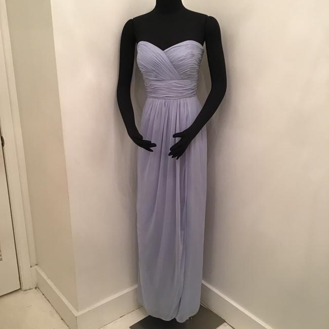 Item - Cloudy Silver Lux Shimmer 2959 Formal Bridesmaid/Mob Dress Size 8 (M)
