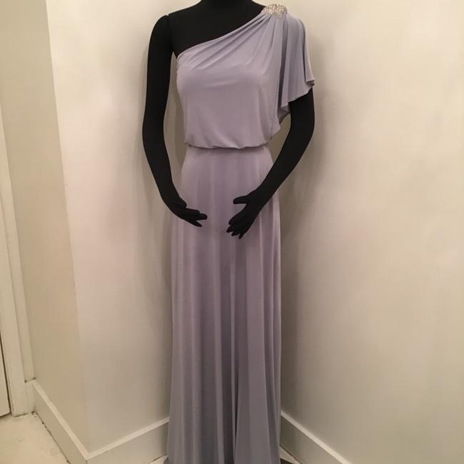 Item - Platinum Maracaine Jersey Jy512 Formal Bridesmaid/Mob Dress Size 8 (M)