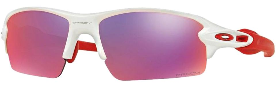 9a725e4d306b8 Oakley Polished White Flak 2.0 Sports Style Unsiex Oo9295-05 Prizm Road  Lens Sunglasses