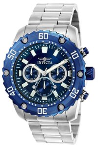 Invicta Invicta Men's Pro Diver 22517 Stainless Steel Chronograph Watch