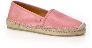 Gucci Loafer Mule Slide Marmont pink Flats
