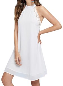 SheIn Round Neck Halter Dress
