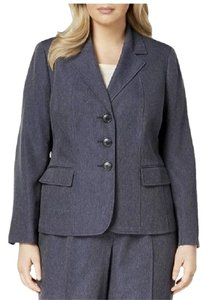 Le Suit Dark Navy Blazer