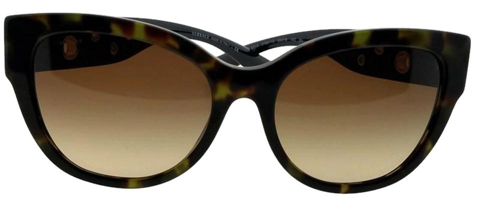 7162a1077b1e1 Versace Tortoise Ve4314-518313 Cat Eye Women s Frame Brown Lens Sunglasses.  Item    24185601