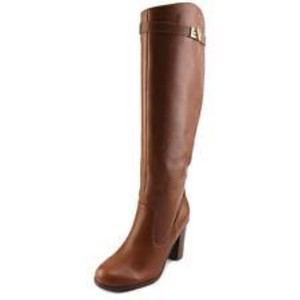 Tommy Hilfiger Light Brown Leather Boots