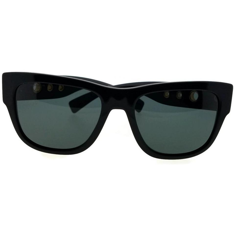 542d3aaec78 Versace Black Ve4319-gb1-87 Square Men s Frame Grey Lens Genuine Sunglasses